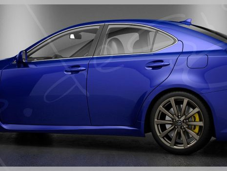 3D Modeling and Render Lexus IS-F