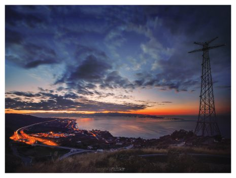 """Santa Trada Sunset"" – Long Exposure"